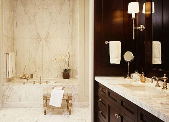 bookmatch_marble_bathroom_wooden_vanity